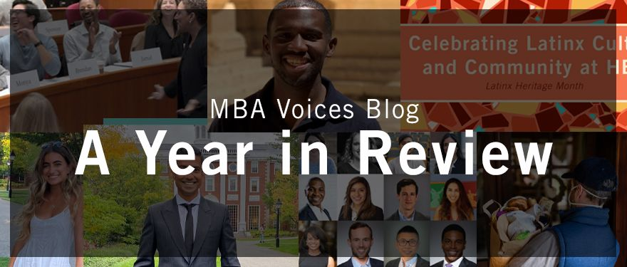 MBA Voices Blog: A Year in Review