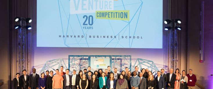 HBS Names Winners and Celebrates 20th New Venture Competition at Finale