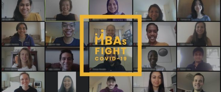 MBA Students Lead the Fight Against COVID-19