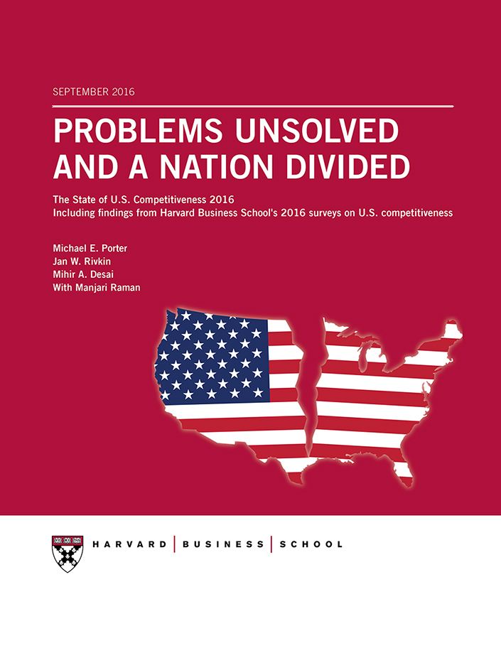 U.S. Competitiveness - Harvard Business School