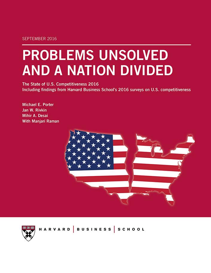 U S  Competitiveness - Harvard Business School