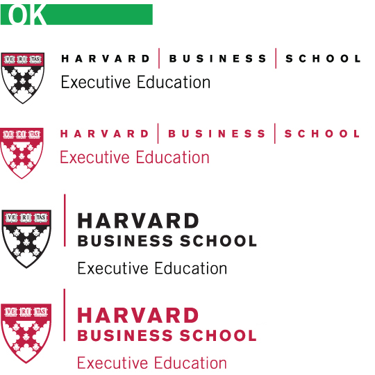 A Harvard University Guide To Executive >> Executive Education Identity Guidelines Harvard Business School