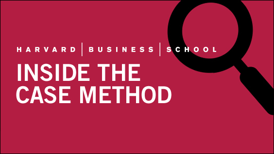 hbs case studies At harvard business school, students pay top dollar to learn everything from   among the case studies they learned last year is the story of.
