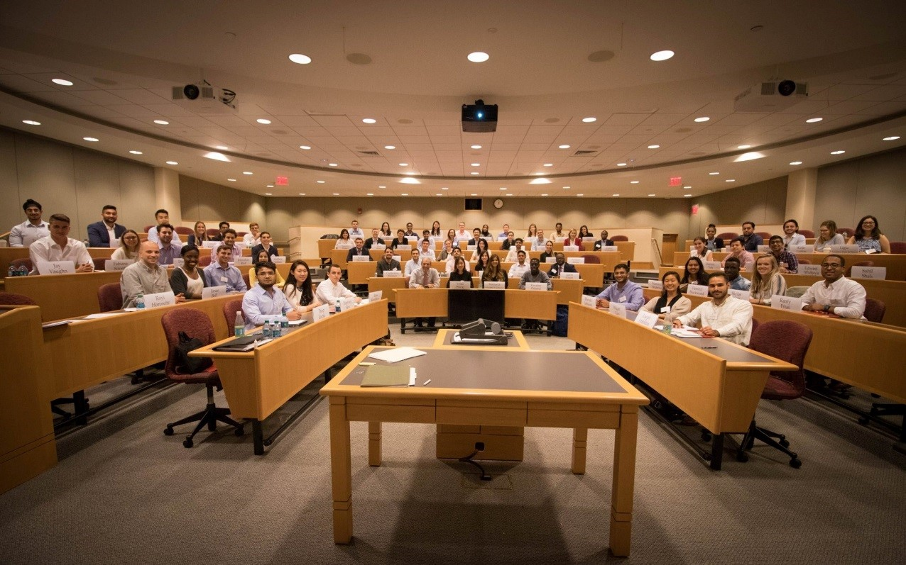 Class at Peek Weekend at HBS