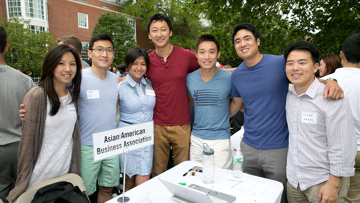 Asian American Business Association Clubs Mba