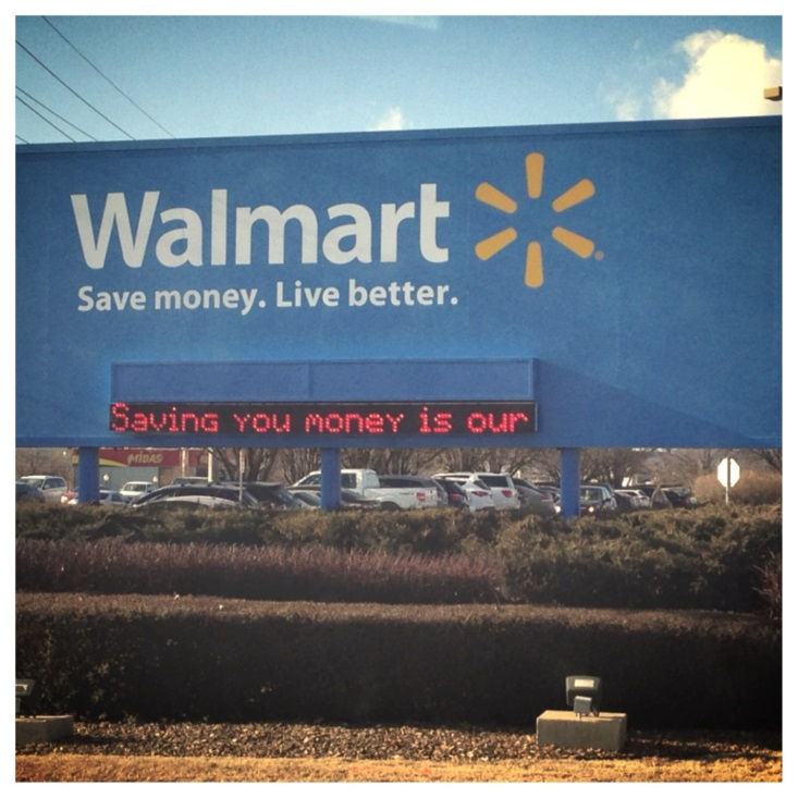 walmart corporate level strategy