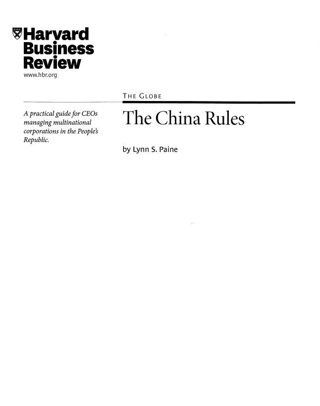 google in china case study essays