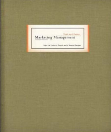 résumé marketing management 14th edition
