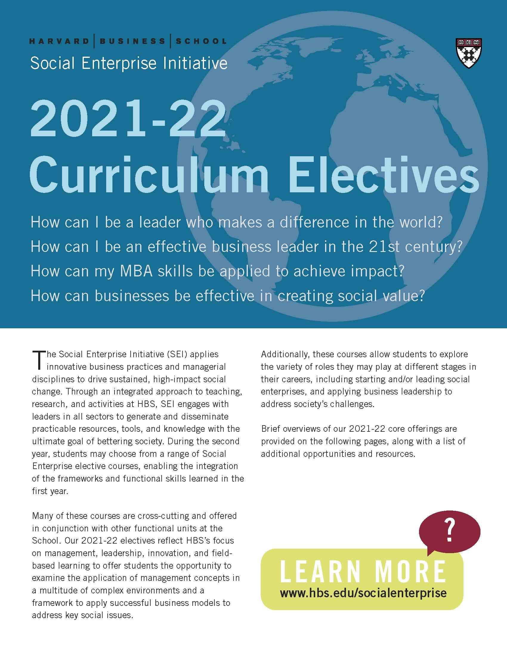 Electives PDF